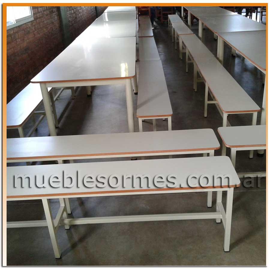 Mesas mesa y bancos para comedor for Banco para mesa de comedor