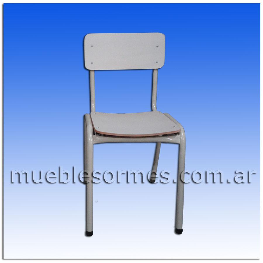 Sillas y pupitres silla para 1er grado 35cm for Sillas para inicial