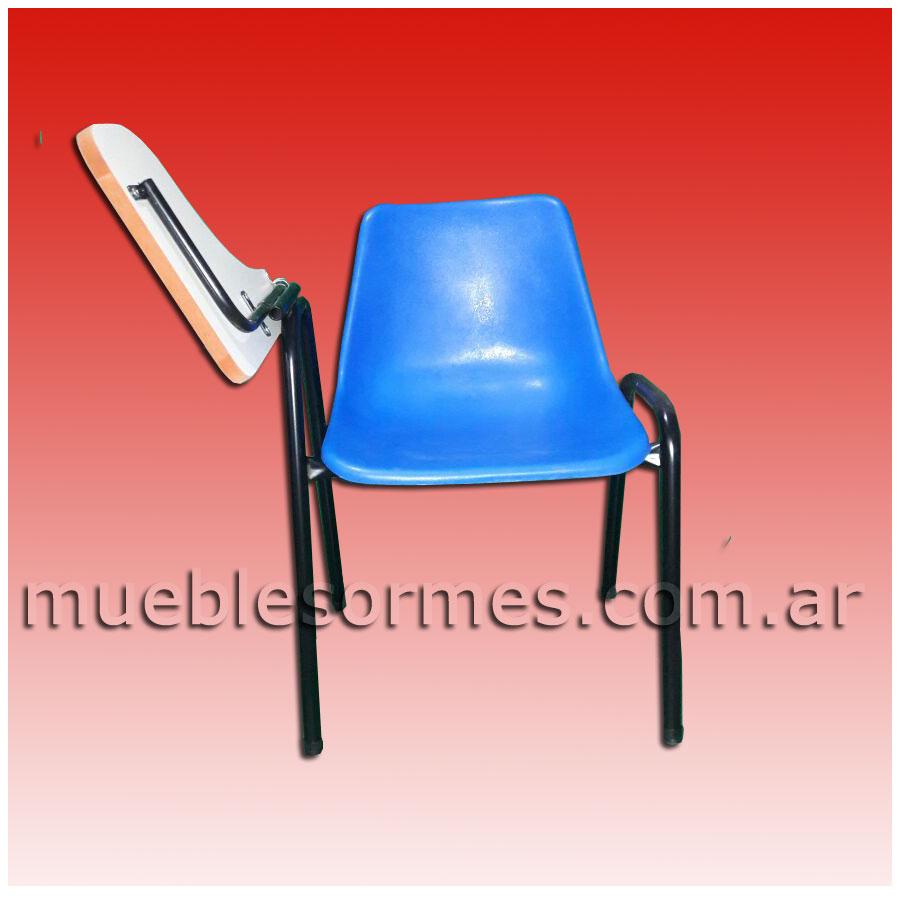 Universitarios silla universitaria monocasco pl stico for Silla universidad